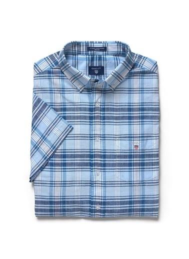 Ekoseli Uzun Kollu Gömlek-Gant